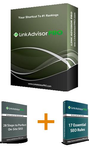 Bonus Link Advisor PRO